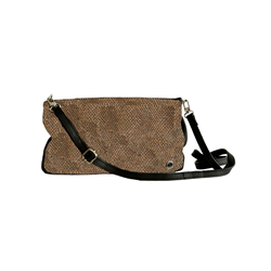 Mollie Sling bag, Metallic +Cow DD, Bronze+ Black