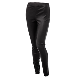 Lynn pants, Leather Stretch, Black