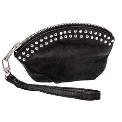 Sweetie Purse, Lamb washed, Black+ S silver