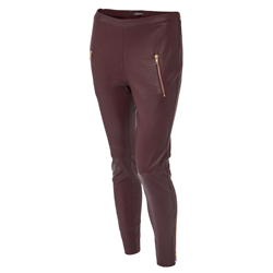 Carol Pants, Lamb napa stretch Viney Winey+S Gold