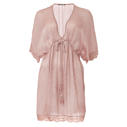 Jewel Dress 100 % Modal Organic Pale Mauve