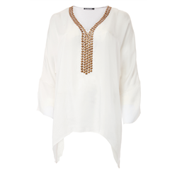 Blanche Blouse 100 % Modal Sateen White