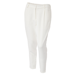Bonnie Pants 100 % Polyester White
