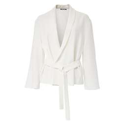 Diccie Jacket 100 % Polyester White