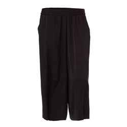 Zimie Pants 100 % Polyester Solid Black