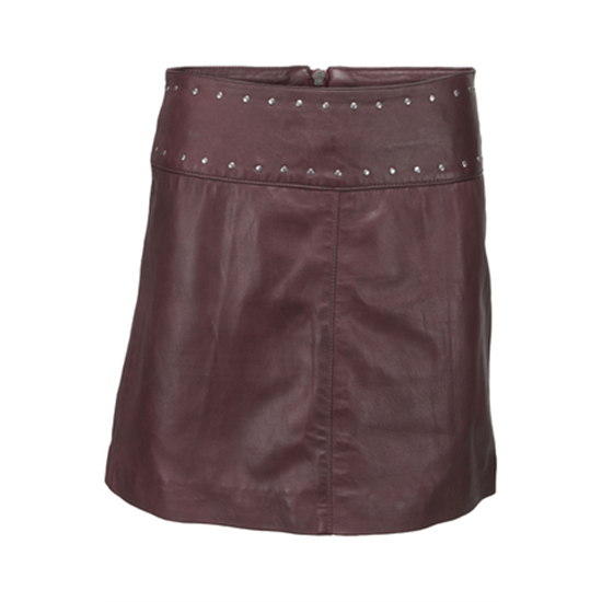 1Hope skirt, Wine red front.jpg